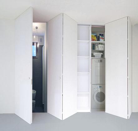 Innenbereich-Tür / für Wandschrank / für begehbaren Kleiderschrank ...