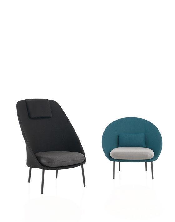 Moderner Sessel / für den Garten / Außenbereich - TWINS by Mut ...