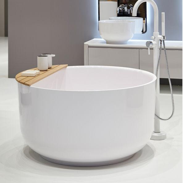 Freistehende badewanne rund  Freistehende Badewanne / rund / aus Marmor - ORIGIN by Seung-Yong ...
