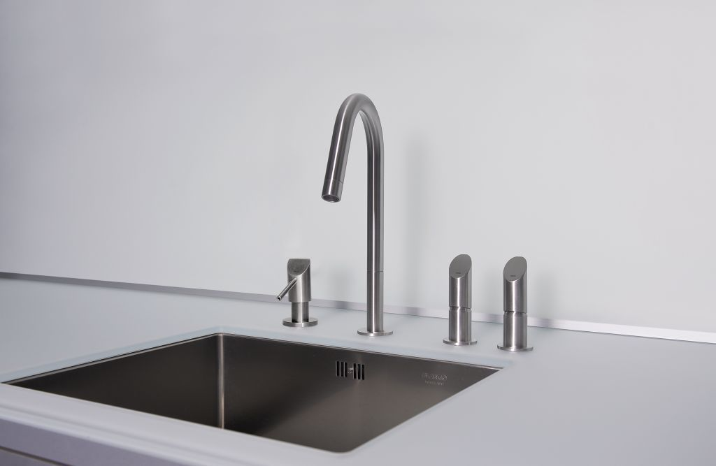 Gewerbe-Seifenspender / Einbau / Edelstahl / manuell - SD1 - MGS ...
