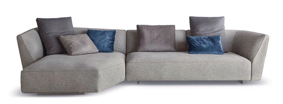 Sofa modern braun  Modulierbares Sofa / modern / Stoff / braun - CLOUD - art nova srl