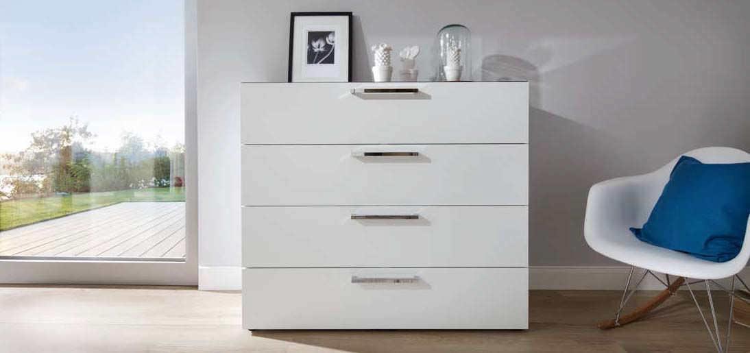 Kommode modern weiß  Moderne Kommode / Holz / lackiertes Holz / weiß - ALEGRO BASIC - Nolte