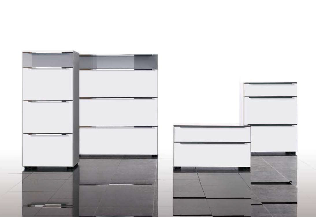 Eck sideboard modern  Moderne Kommode / weiß - ALEGRO TREND - Nolte