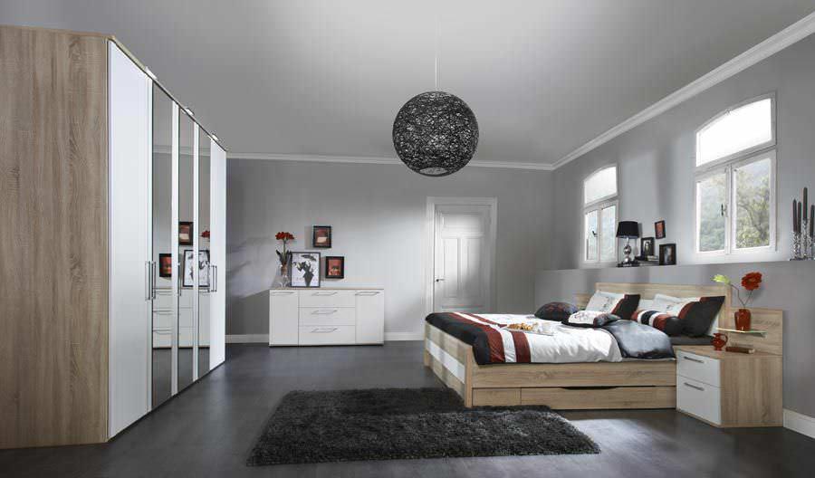 Standardbett / doppelt / modern / Bettkasten - BELVENTO - Nolte