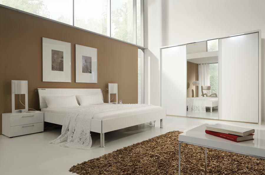 Standardbett / doppelt / modern / Holz - FARGO - Nolte