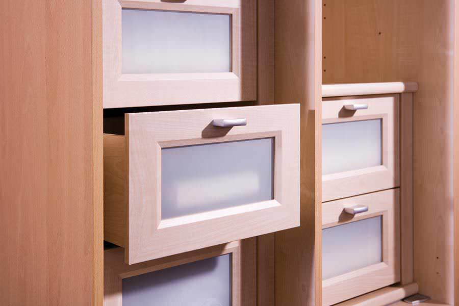 Moderner Begehbarer -Kleiderschrank / Holz - HORIZONT 3000 - Nolte