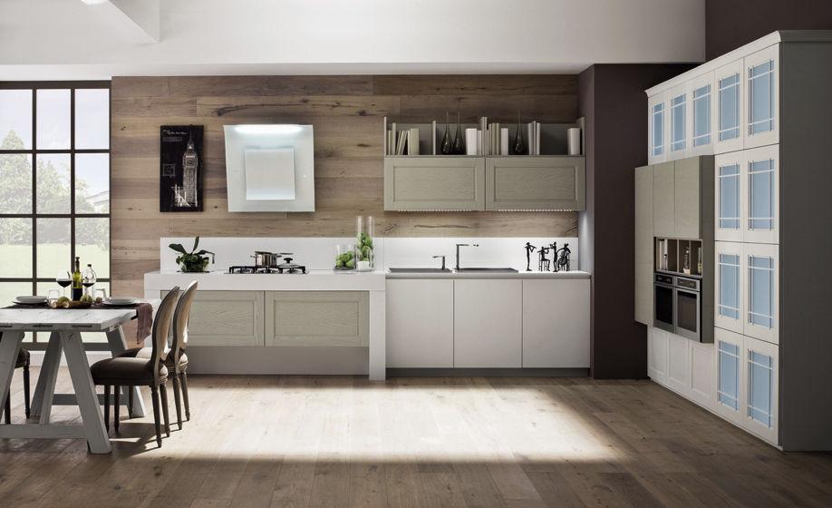 Moderne Küche / Holz / lackiert - ALICE - Arrex