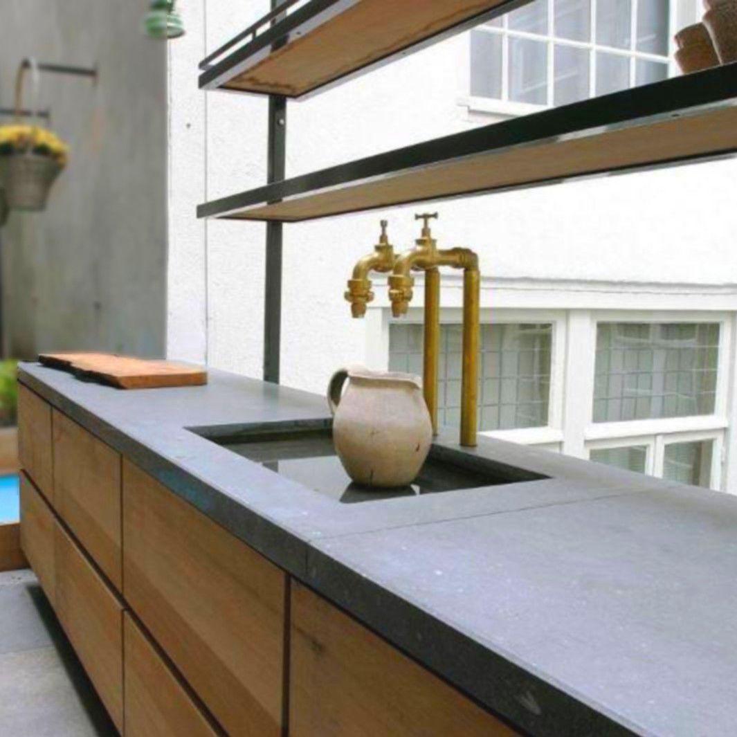 arbeitsplatte / bfuhp ductal© beton / küchen - balian beton atelier