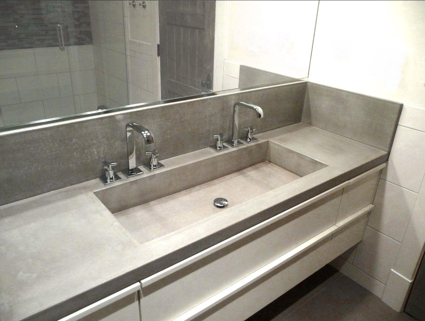 Waschtischplatte / bfuhp Ductal© Beton - BALIAN BETON Atelier | {Waschtischplatte beton 11}