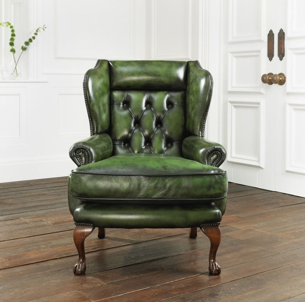 Chesterfield Sessel Leder Osborne Distinctive Chesterfields