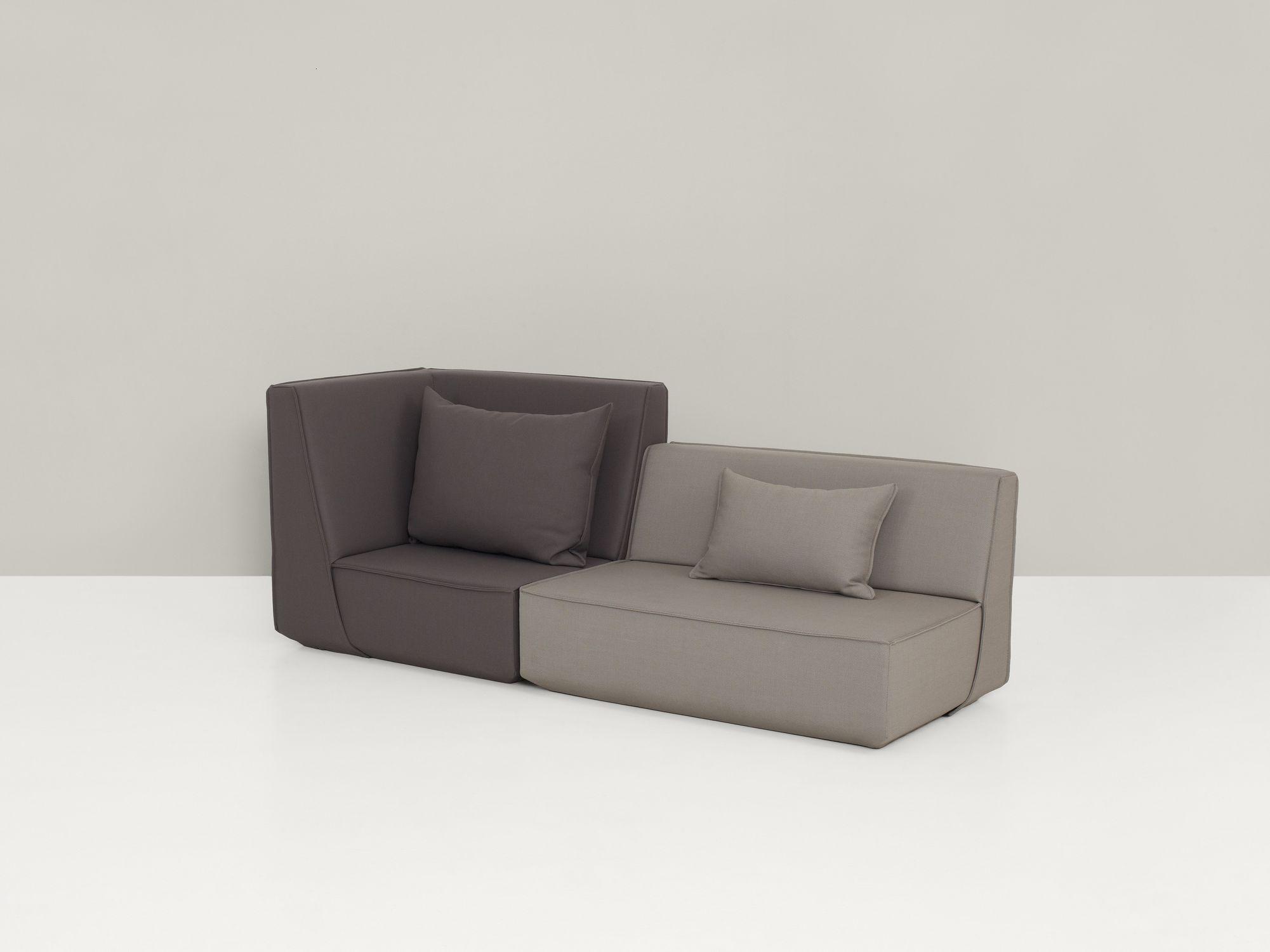 Modulierbares Sofa Modern Stoff Mit Hoher Ruckenlehne Sk103