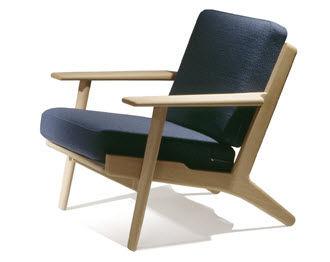 Wegner Sessel moderner sessel / leder / von hans j. wegner - 290 easay chair