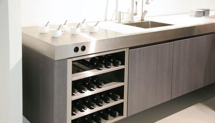 Küche Mit Edelstahl Arbeitsplatte arbeitsplatte küche edelstahl