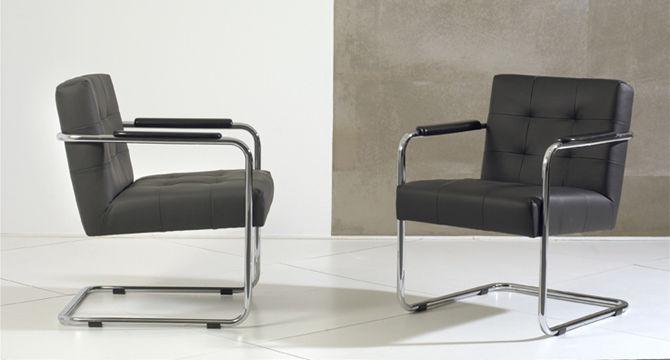 Moderner Sessel / Leder / Mit Überhang   GRANADA Design Ideas