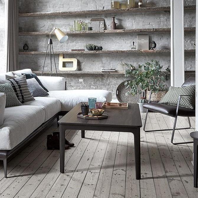 Couchtisch / Skandinavisches Design / Holz / Rechteckig / Innenraum   #205