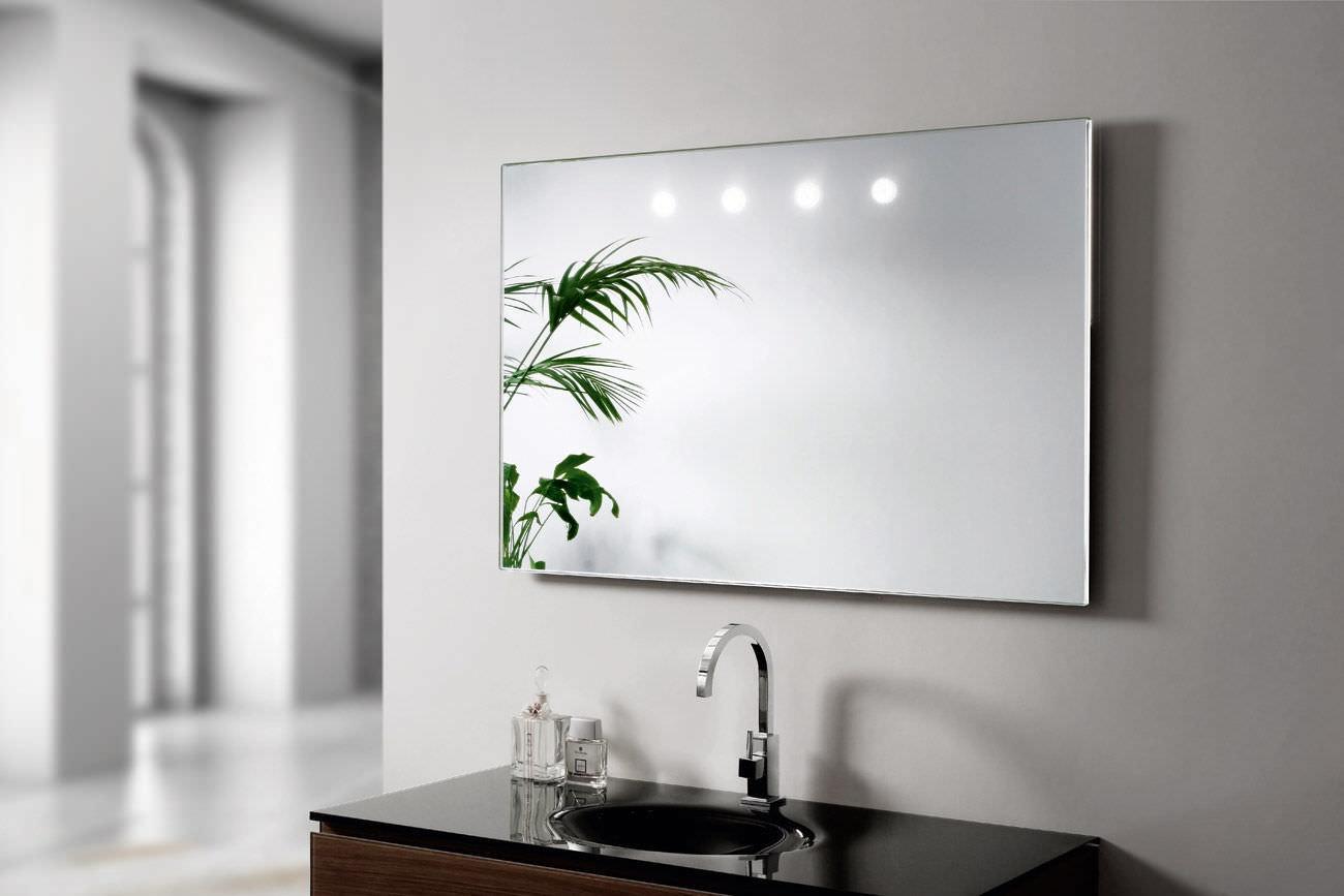 wandmontierter spiegel / modern / rechteckig / rund - argento, Hause deko