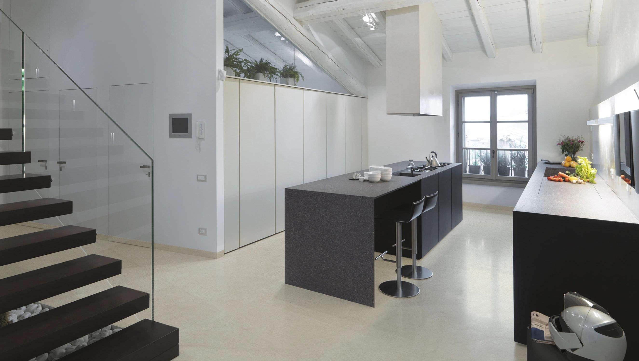 Innenraum-Fliesen / Wohnzimmer / für Böden / aus Terrazzo - Design ...
