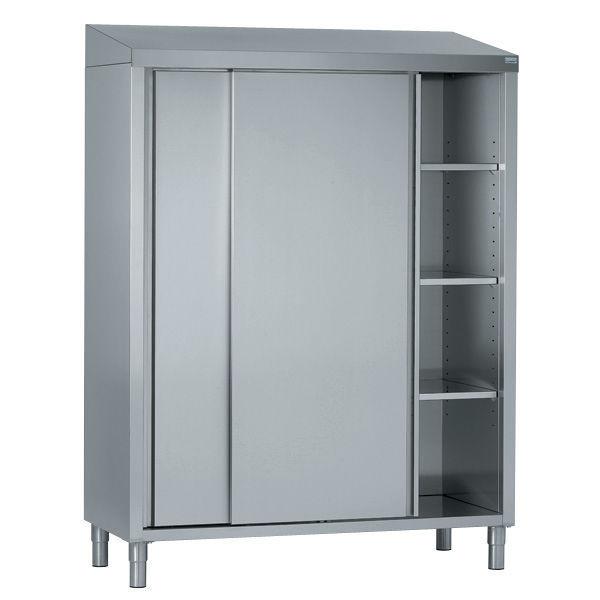Moderner Lagerschrank für Küchen / Edelstahl / Gewerbe - Tournus