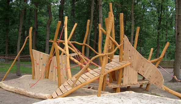Klettergerüst Outdoor Holz : Klettergerüst für spielplätze spielart la fourmilliÈre a