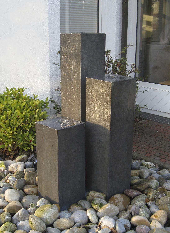 Garten Springbrunnen Zink Zink Art Saulen Slink Ideen Mit Wasser