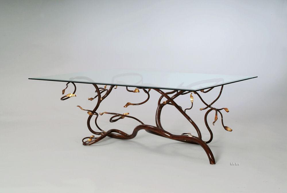 Tisch design  Designtisch / originell / Glas / rechteckig - D2-04 - Maximusarredi