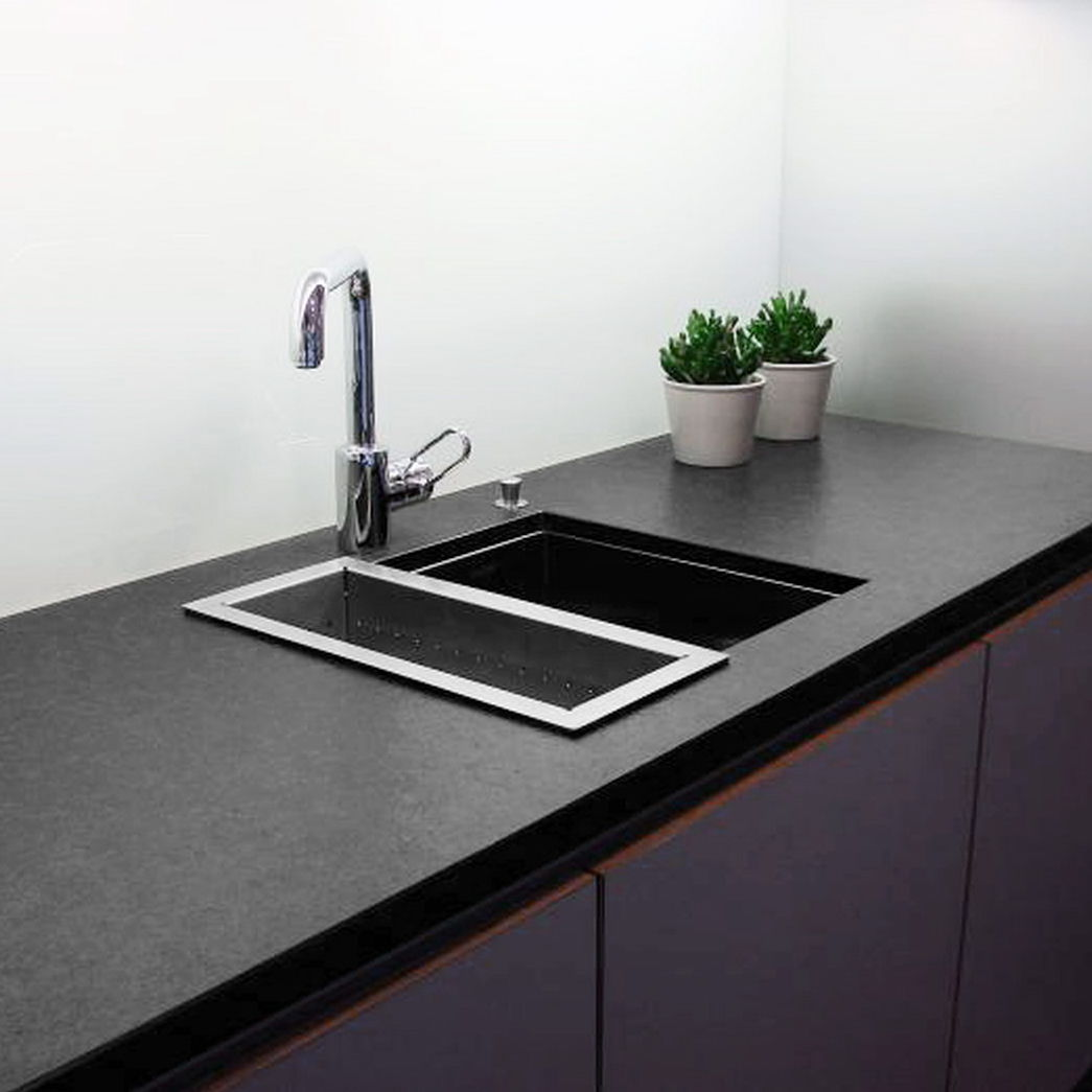 Schiefer Arbeitsplatte schiefer arbeitsplatte küchen schwarz balfin srl