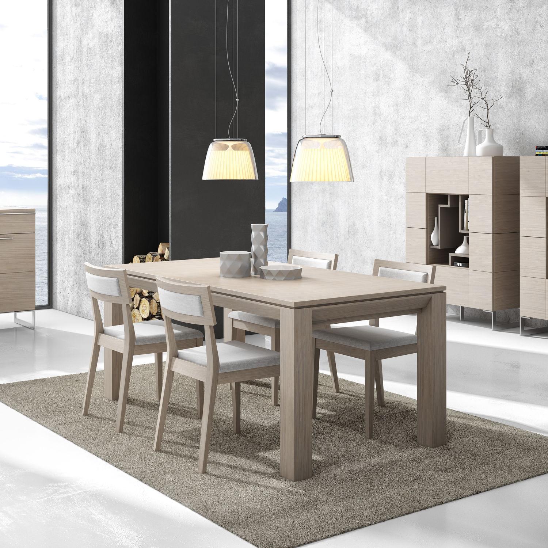 Moderner Esstisch / Holz / rechteckig - GINZA + : 322 - A. Brito