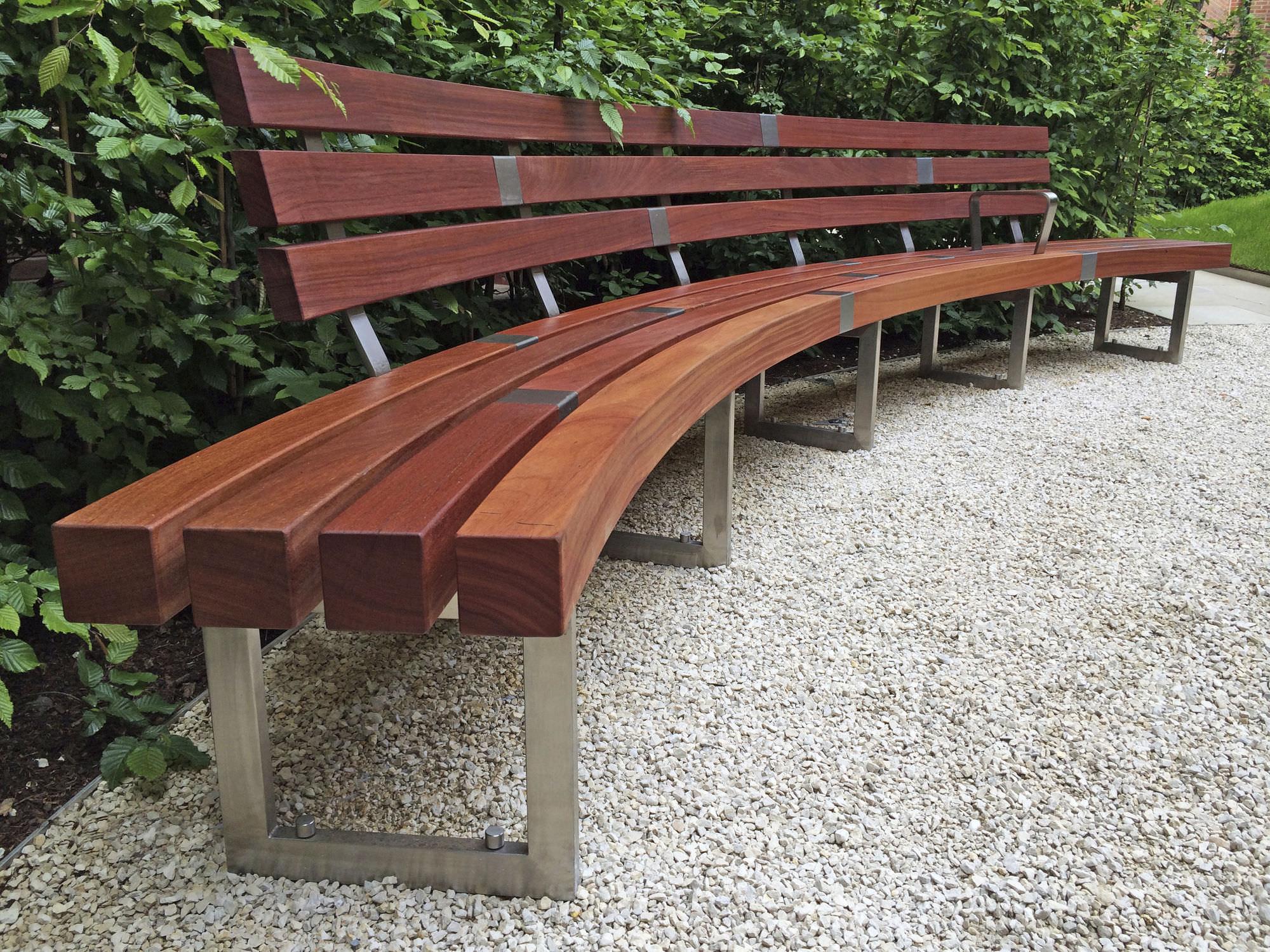 Schön Gartenbank Aus Holz Schema