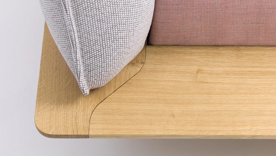Doppelbett Modern Gepolstertes Kopfteil Stoff Yoma By
