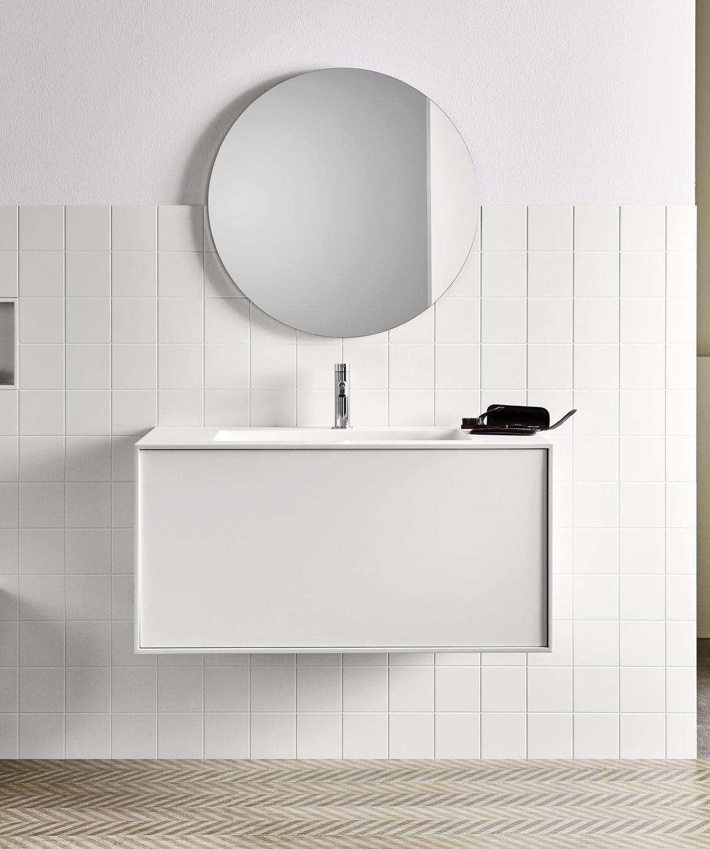Wandmontierter Spiegel für Badezimmer / modern / rund - Filolucido ...