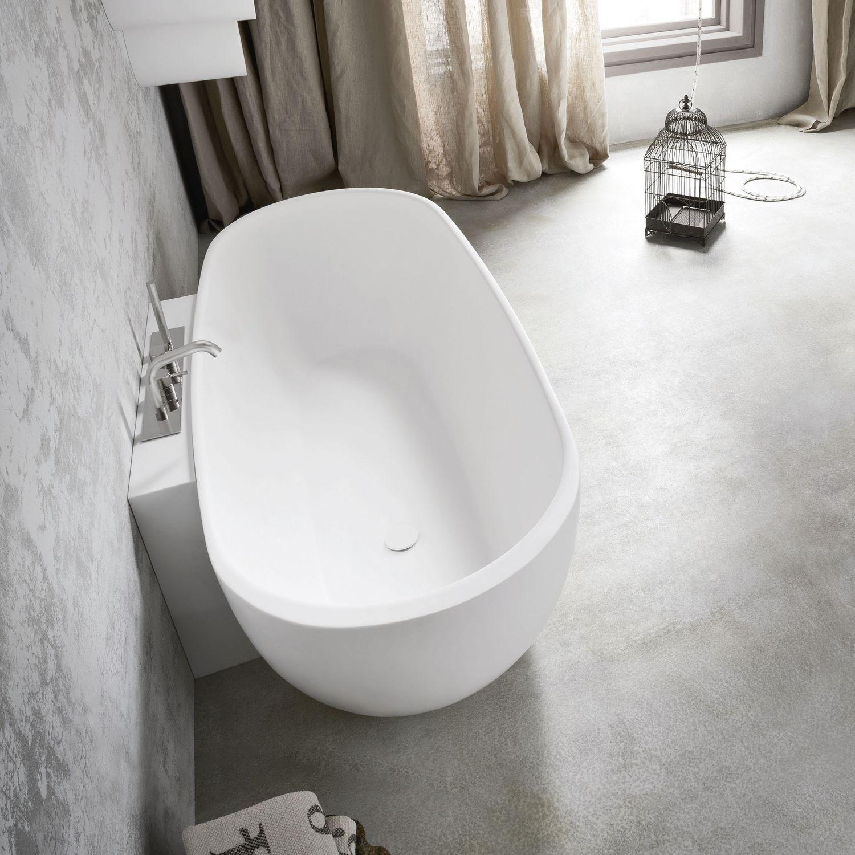 Entzuckend Freistehende Badewanne / Oval / Verbundwerkstoff   HOLE By Susanna Mandelli