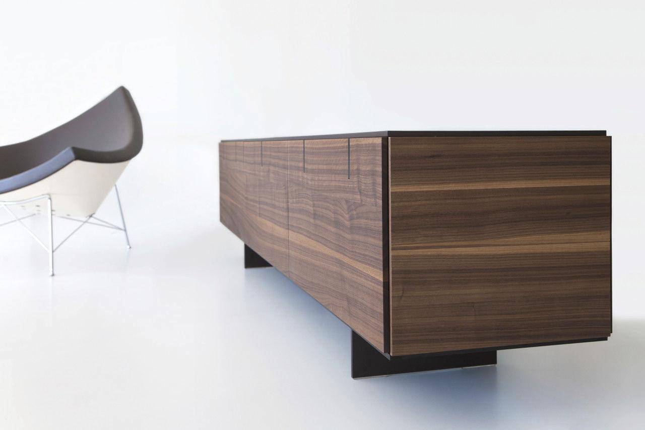 Sideboard holz  Modernes Sideboard / Holz / schwarz - NEXT - Mobimex