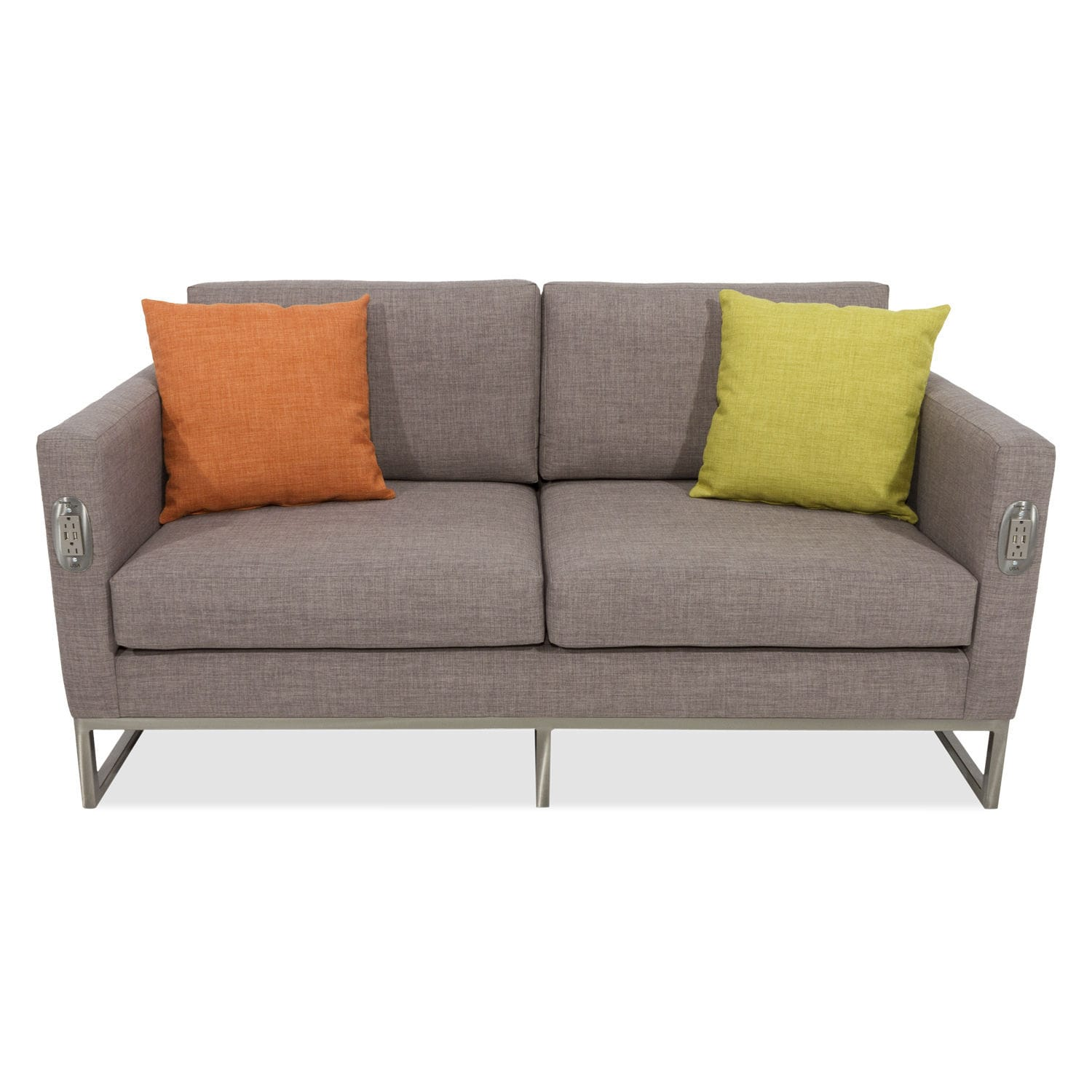 Modernes Sofa / Stoff / Objektmöbel / 2 Plätze   SIMPLE CHARGE LOVESEAT