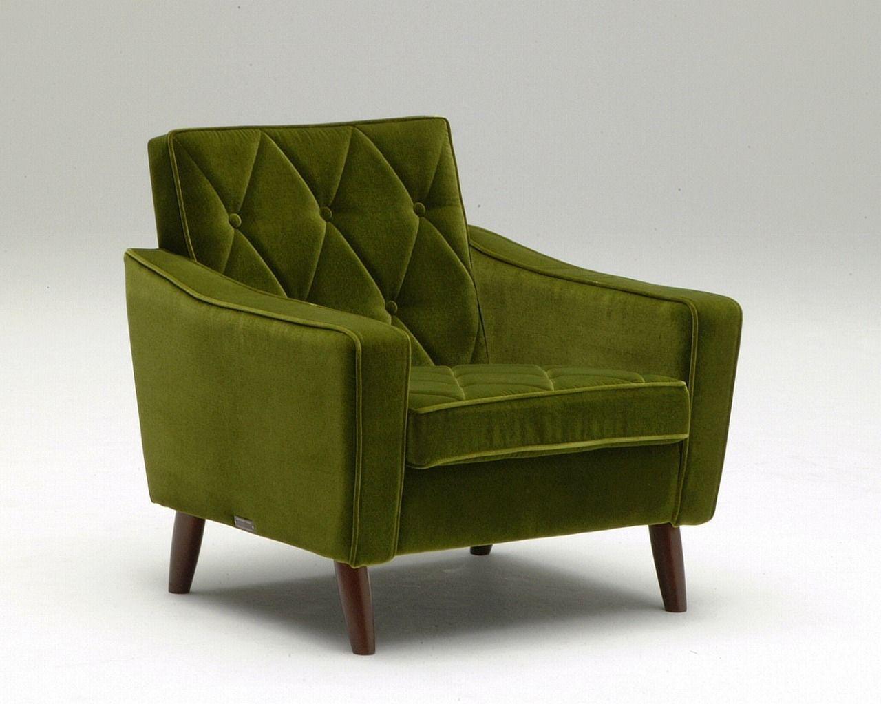 Sofa Samt Grün klassischer sessel samt holz schwarz lobby karimoku