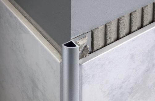 Aluminium Abschlussprofil Fur Fliesen Viertelrund Durondell
