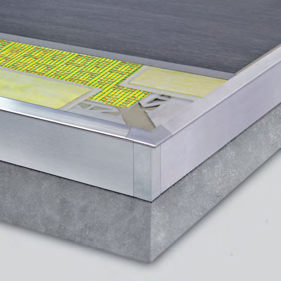 Aluminium Abschlussprofil Fur Fliesen Winkel Durabal Bk