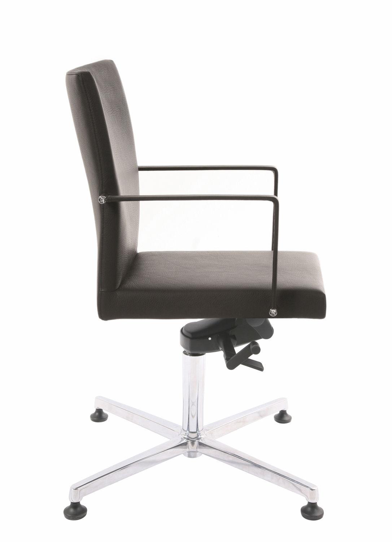 Bürostuhl ohne rollen holz  Hocker Mit Lehne Und Rollen: Rollhocker höhenverstellbar mit lehne ...