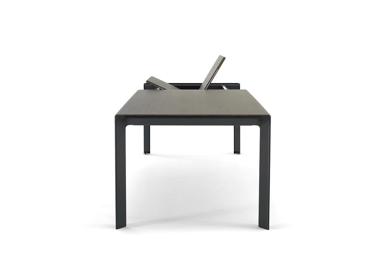 Moderner Esstisch / Holz / Stahl / rechteckig - BRANCH - Arco
