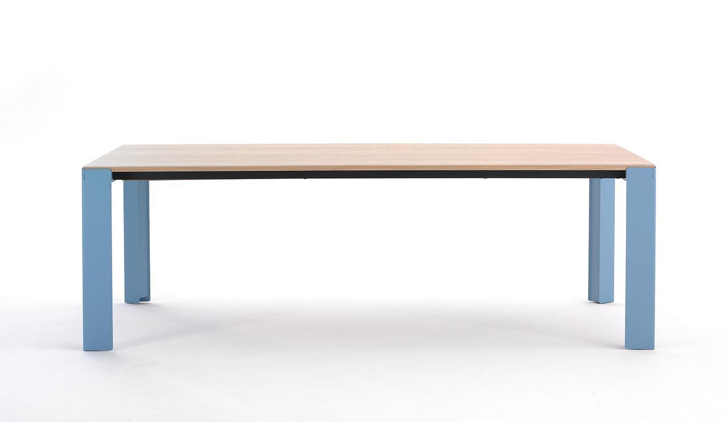 moderner esstisch / holz / stahl / rechteckig - branch - arco - Moderner Esstisch Holz Stahl