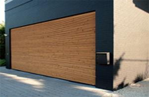 Garagentor Sektionaltor Holz