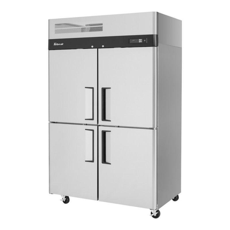 Kühlschrank zur gewerblichen Nutzung / Schrank / 4-Türen / Edelstahl ...