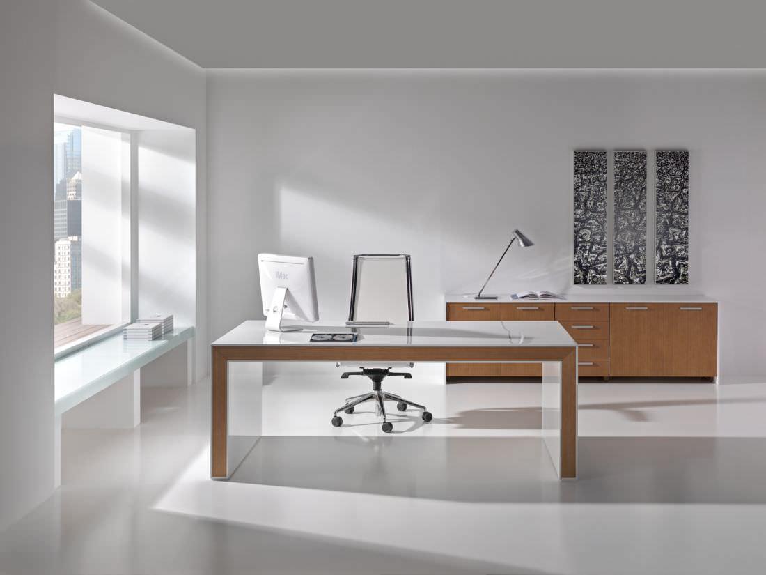 Aktenschrank design  Holz-Schreibtisch / modern / Gewerbe - BELESA by Estelles Design ...