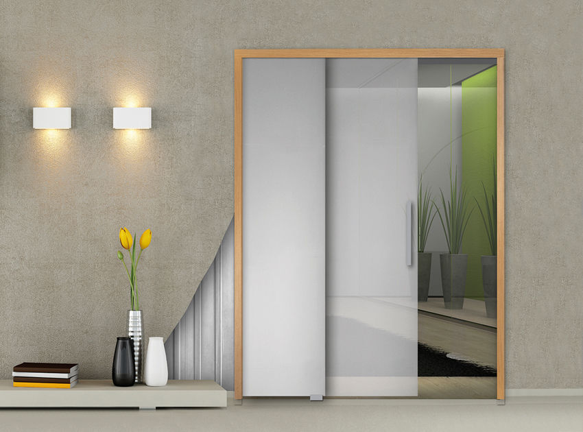 Holztürrahmen - PARALELO - OPENSPACE | Sliding doors by Gosimat