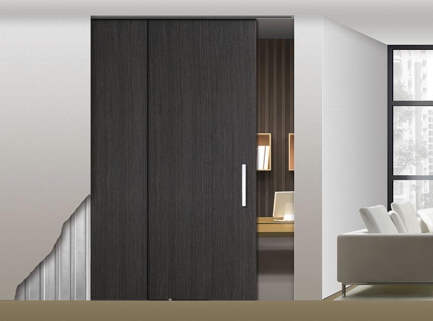 Holztürrahmen - PARALELO PLUS - OPENSPACE | Sliding doors by Gosimat