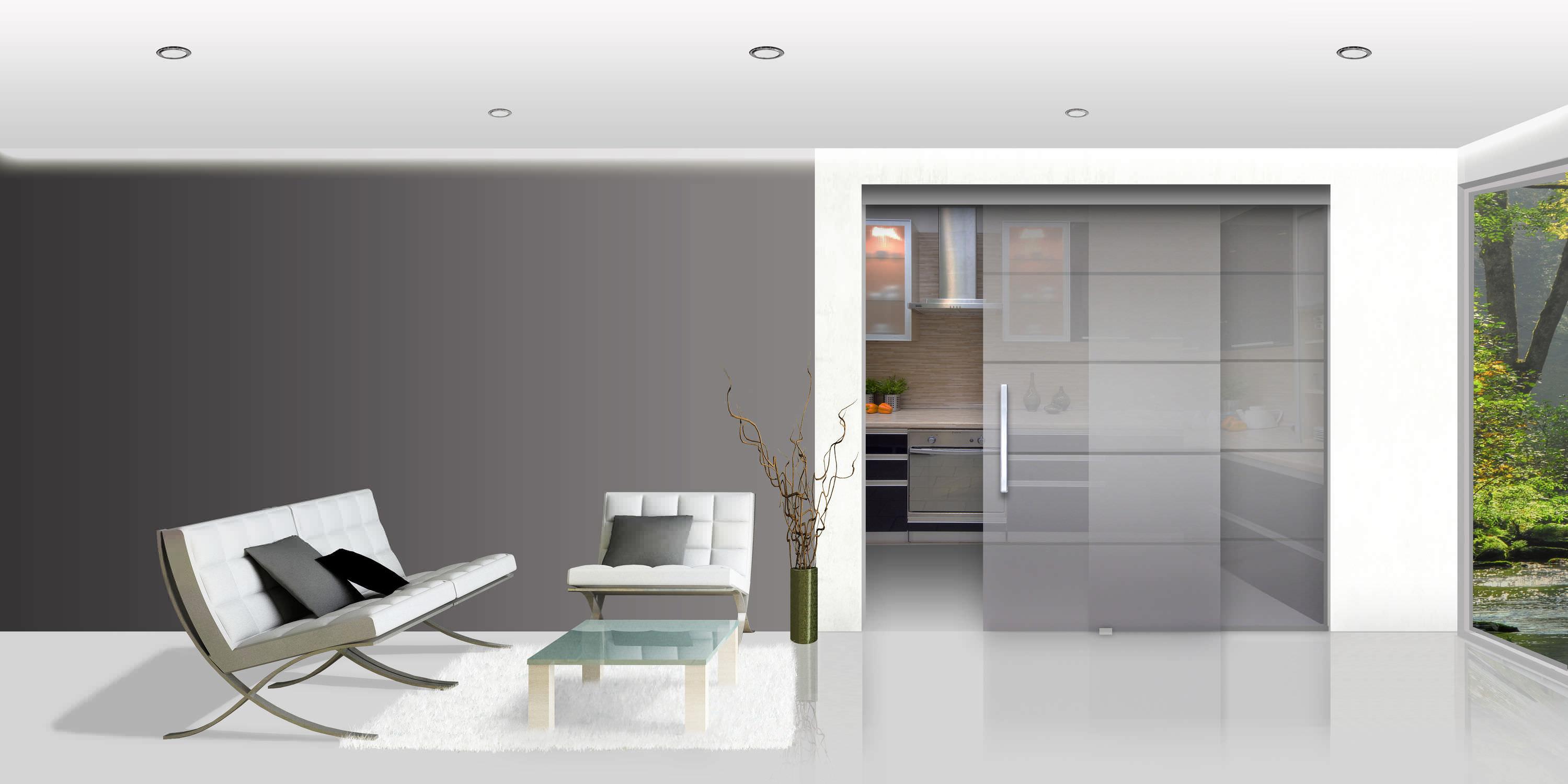 Glasschiebeturbeschlag Smart Openspace Sliding Doors By Gosimat