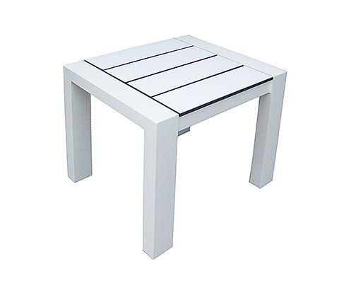 Beistelltisch aluminium  Moderner Beistelltisch / HPL / aus Aluminium / rechteckig - PIANO ...