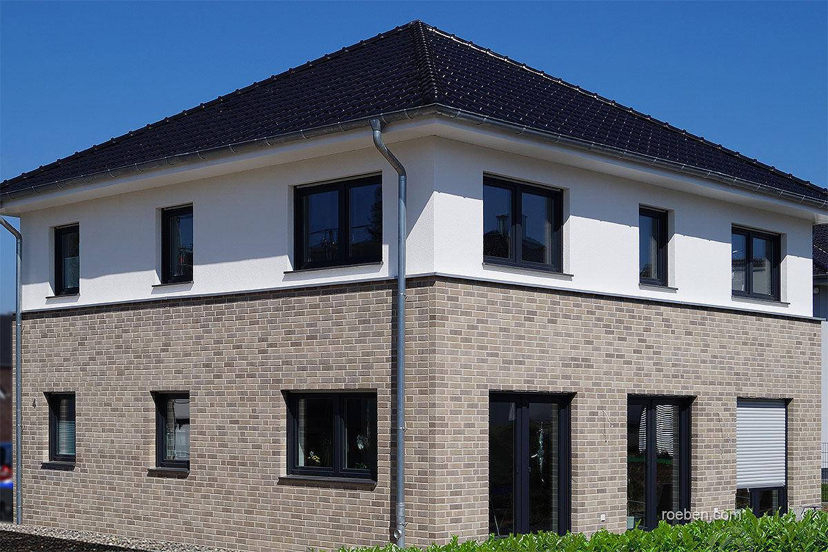 Massivziegel Isolierend Fur Fassaden Grau Dover Roben