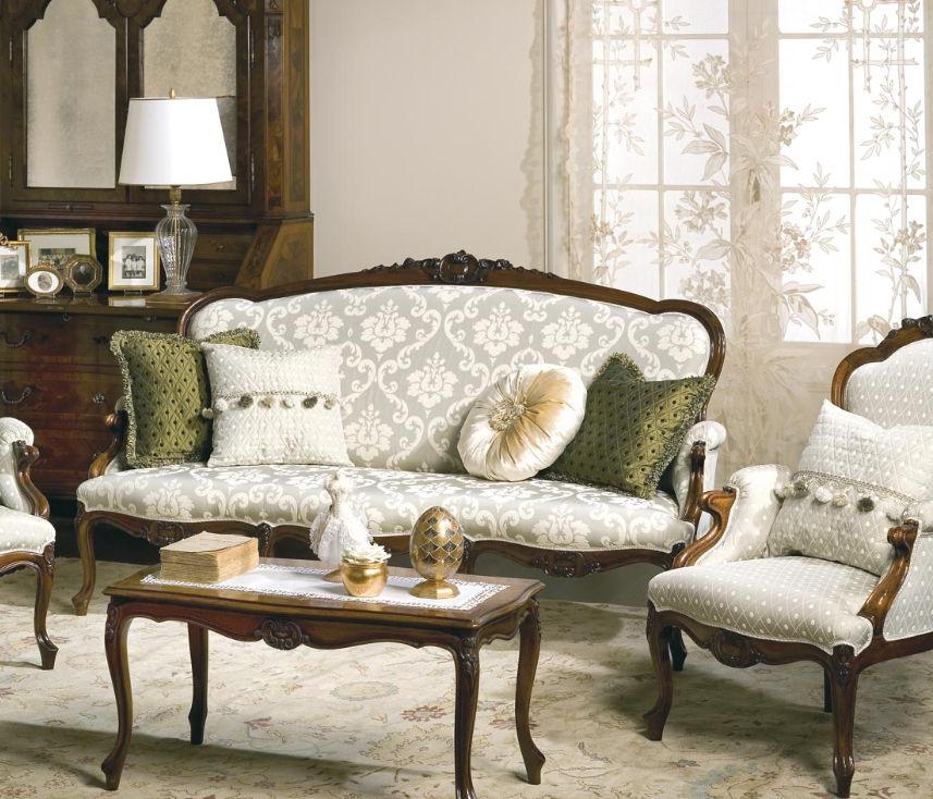 Stil Sofa Stoff 2 Platze Mehrfarbig Carlotta Vimercati
