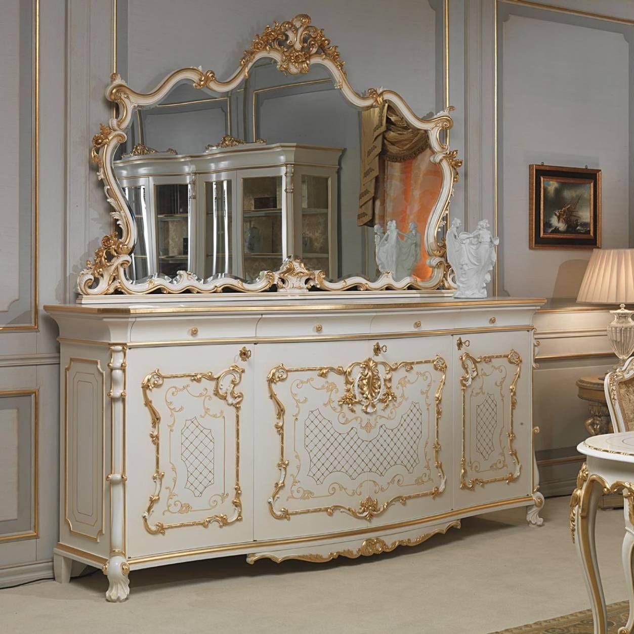 Sideboard / Louis XV. Stil / Holz - VENICE - VIMERCATI MEDA LUXURY ...