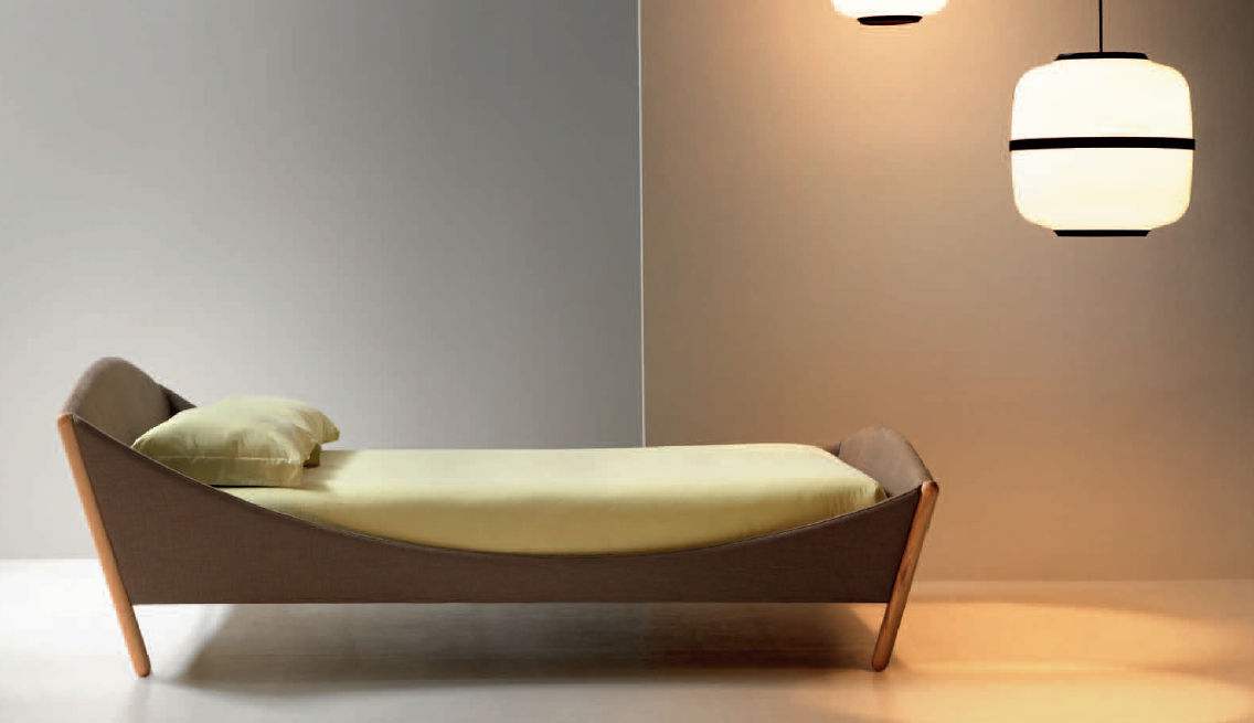 Einzelbett design  Standardbett / Einzel / modern / Stoff - LULLABY - noctis